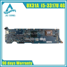 UX31A For ASUS Laptop Motherboard UX31A2 REV4 1 2 0 Mainboard with i5 3317U 4GB Fully