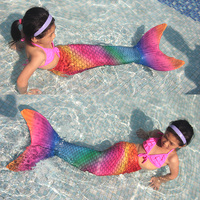 SBART 2mm Neoprene Mermaid Tail One Piece Suits Water Sport Swimming Simulation Fish Scales Mermaid Tail