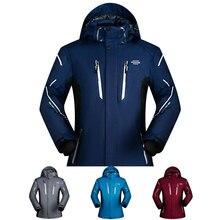 Men Ski Jacket Brand 2018 Outdoor Waterproof Thicken Super Warm -30 Degree Snow jacket Clothes Coat Winter Snowboard Jacket Men