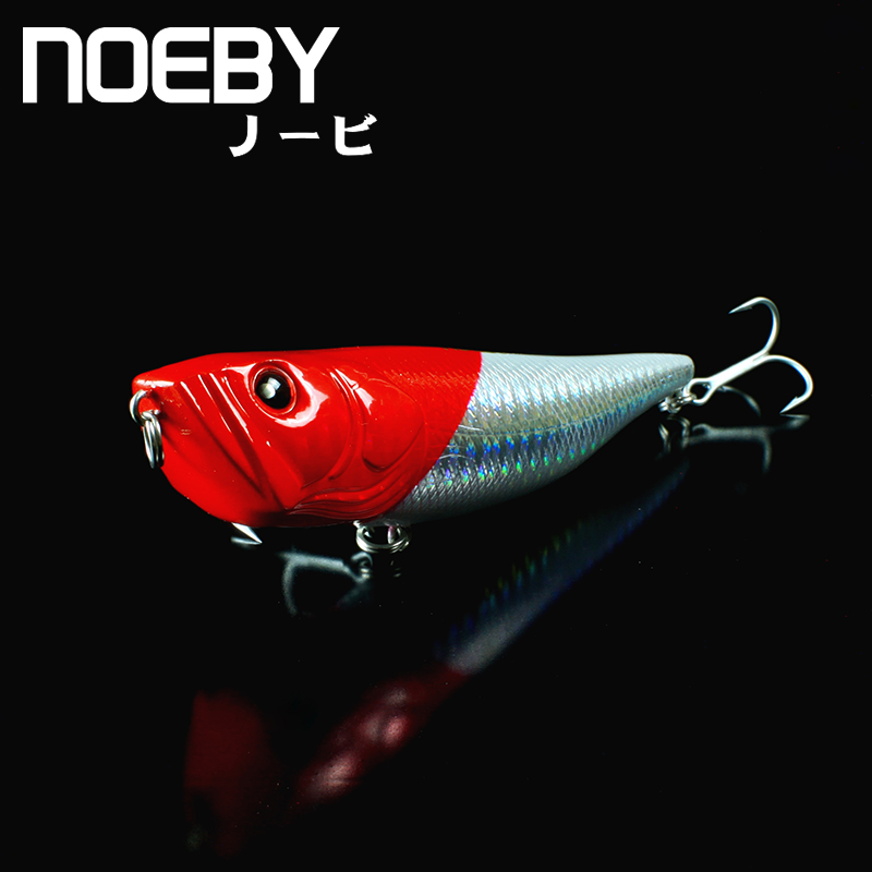 NOEBY 1 Pcs Fishing Lure 100mm/18g Top Water Hard Plastic Bait PENCIL Lures Artificial fishing Acessorios para pesca leurre dur noeby nbl9062 fishing lures 66g 140mm pencil sinking leurre peche mer brochet hard fishing bait