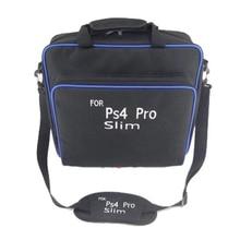 Bolsas protectoras de almacenamiento bolso de hombro estuche de viaje y transporte para PS4/Pro/accesorios de consolas delgadas