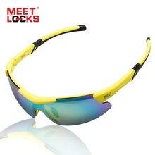 Meetlocks спортивные солнцезащитные очки велосипедные для горного