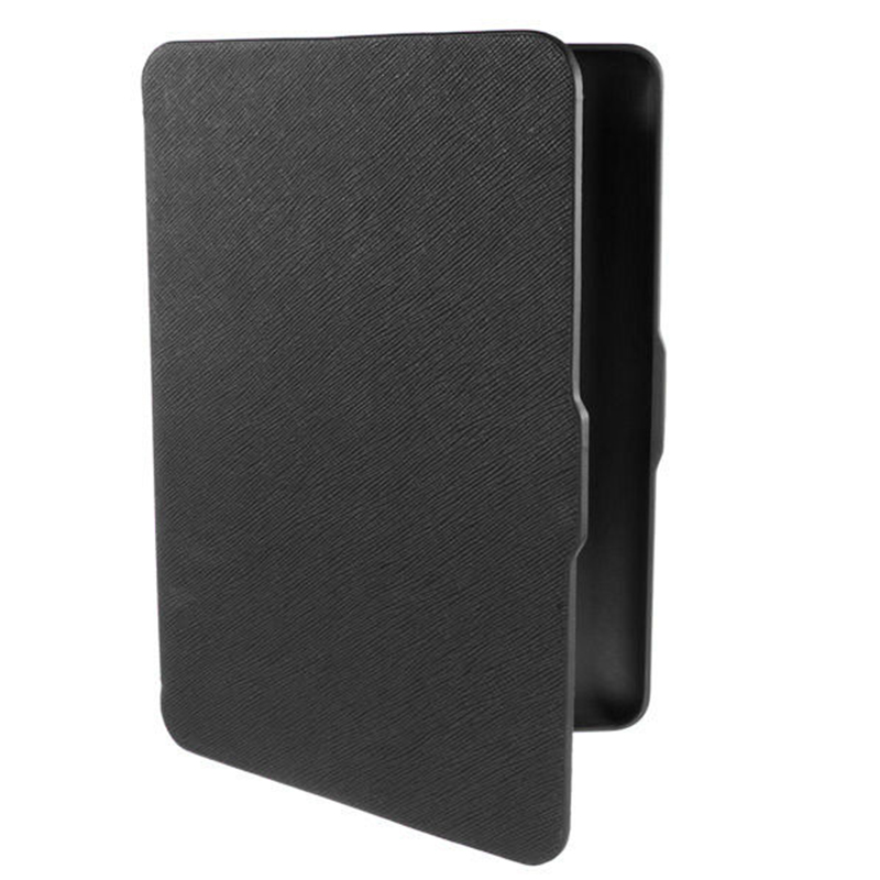 цены MOOL Hot 2 Packs Sale Magnetic PU Leather Cover Case slim for Amazon Kindle Paperwhite (Cross pattern, Black)