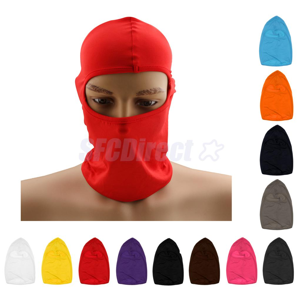 все цены на 50Pcs Outdoor Sports Hunting Bicycle Cycling Skateboard Motorcycle Ski Riding Hat Balaclava Protect Full Face Mask онлайн