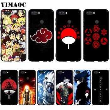 YIMAOC Naruto Kakashi Sasuke caso Huawei Mate 10 P8 P9 P10 P20 P30 P Smart Lite Pro Mini 2017