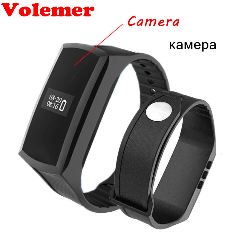 K88 Smart Band with HD 1080P Mini Camera Camcorder