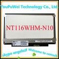 11.6 ''delgado lcd de matriz NT116WHM-N10 N116BGE-L41/L42/LB1 B116XW01 V.0 izquierda + derecha tornillo agujeros llevó la pantalla panel de $ number pines