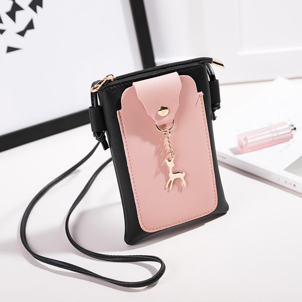 Women Small Mini Shoulder Bag Crossbody Bags Sling PU Leather Phone Holder Handbag Popular shoulder bag