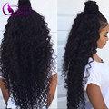 Meches Bresilienne Lots Brazilian Virgin Hair Curly Human Hair Weave Kinky Curly Virgin Hair 7A Unprocessed Virgin Hair AliQueen