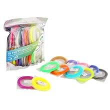 ABS SUNLU 3D ручка печати нити 20 цветов, включая 4 luminouse свет 3D-принтеры нитей расходных материалов Материал, 1.75 мм ABS