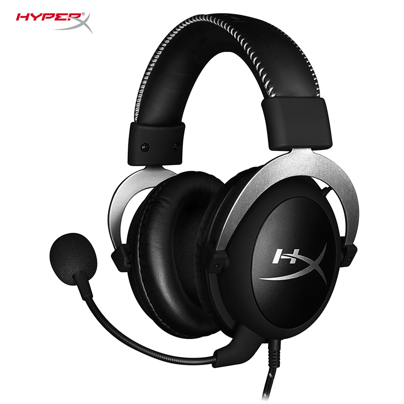 HyperX Cloud Gaming Headset Automatically Noise Cancellation Headphones Detachable Noise Cancellation Microphone Volume Control