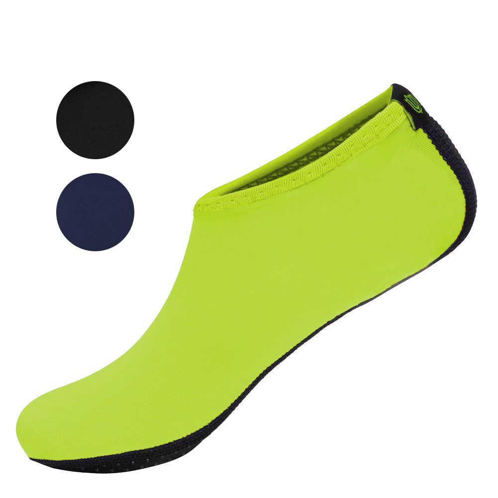 Yeni Dayanıklı Taban Yalınayak Su Cilt Ayakkabı Aqua Çorap Plaj Havuz Kum Yüzme Yoga Su Aerobik Çorap Ayakkabı XD88