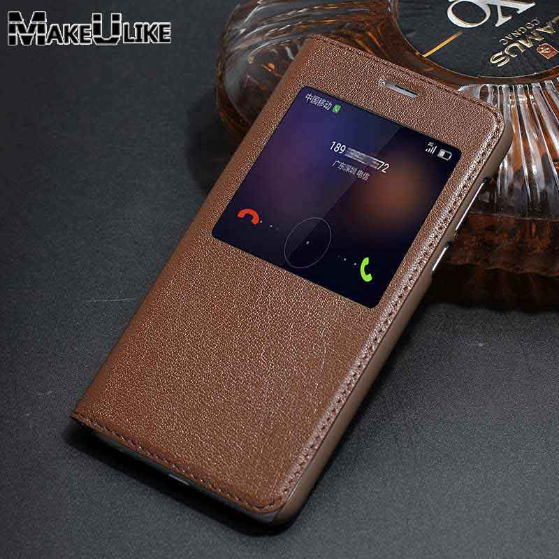 MAKEULIKE Genuine Leather Case For Huawei Honor 8 Luxury Cover Window View Real Leather Coque For Huawei Honor 8 Flip Case MAKEULIKE Genuine Leather Case For Huawei Honor 8 Luxury Cover Window View Real Leather Coque For Huawei Honor 8 Flip Case