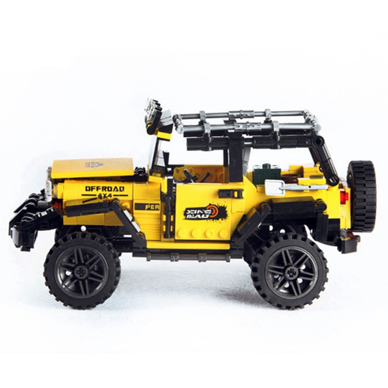 610Pcs Off Road Adventure Suite Building Block Car Series Brick Toys For Children 39 S Education Gift Model in Ride On Cars from Toys amp Hobbies