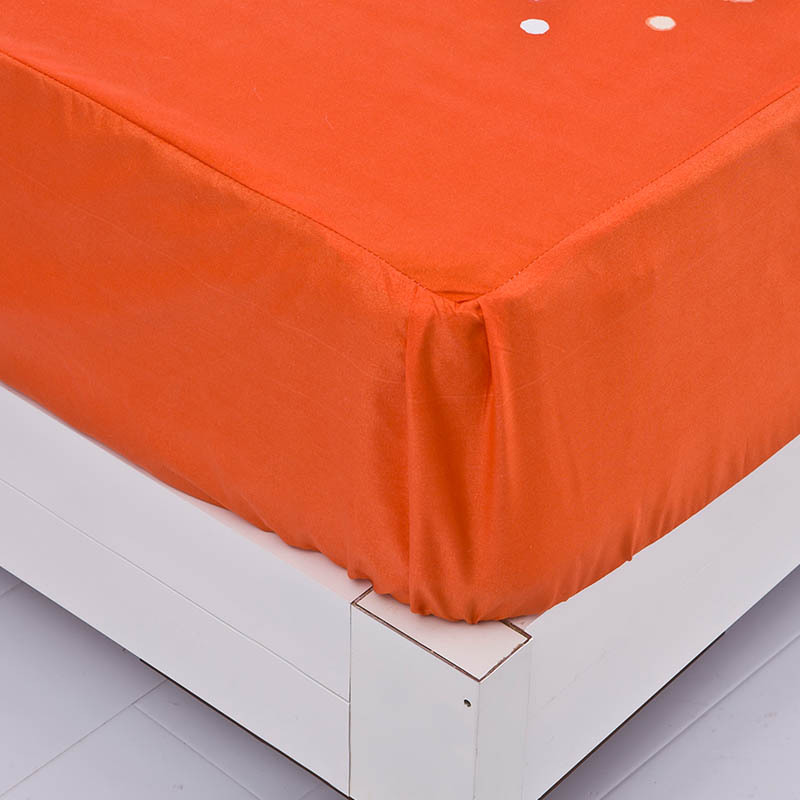 Great Orange Fitted Sheet