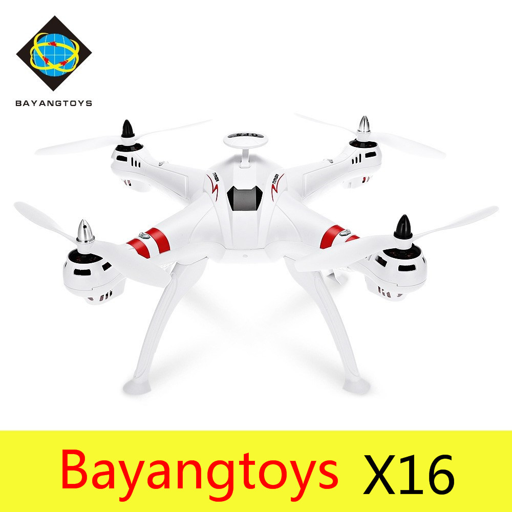 Bayangtoys X16 RC Quadcopter Drone Brushless WiFi FPV Drone With 2MP HD Camera 2.4GHz 6 Axis Gyro Dron VS Cheerson CX-20 H501C