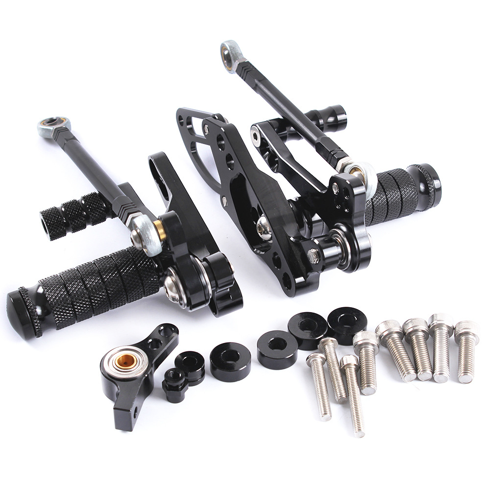 For DUCATI STREETFIGHTER 1098/S 1198/S 2011-2014 CNC Motorcycle Adjustable Rearsets Rear Sets Foot Pegs Pedal Foot Rests