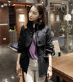 Spring Outerwear Brand Fashion Women's Casual Korean Designer beige/black Casual Long Sleeve Pockets Trench Coat