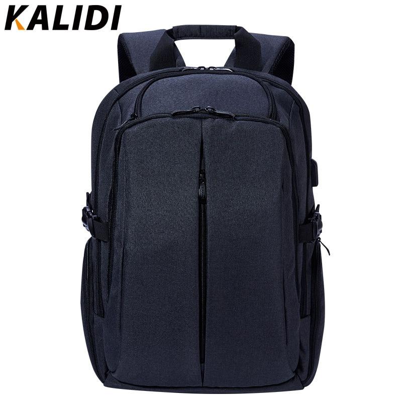 KALIDI bärbar väska 17 tum för Mackbook Air Pro 15 17 Business - Laptop-tillbehör - Foto 2