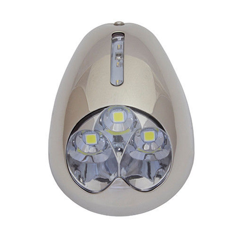 12 V Marine bateau LED Navigation lumière étanche Signal lampe en acier inoxydable blanc Pier lumière de l'itc