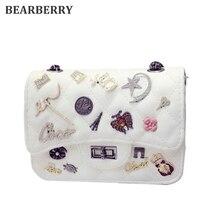 Bärentraube 2017 hohe qualität Mini Taschen Kette Schulter Messenger Bag Luxus Handtaschen Frauen Taschen Frauen Handtasche Crossbody Paket