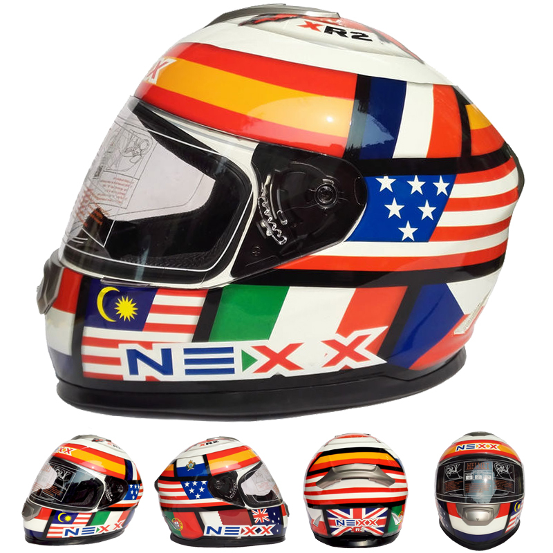 NEXX Brand Motorcycle Full Face Helmet cascos para moto Capacetes Motocicleta Casque FF901 nenki fiberglass motorcycle helmet full face moto 856z capacetes motociclismo cascos para moto casque motosiklet kask helmets