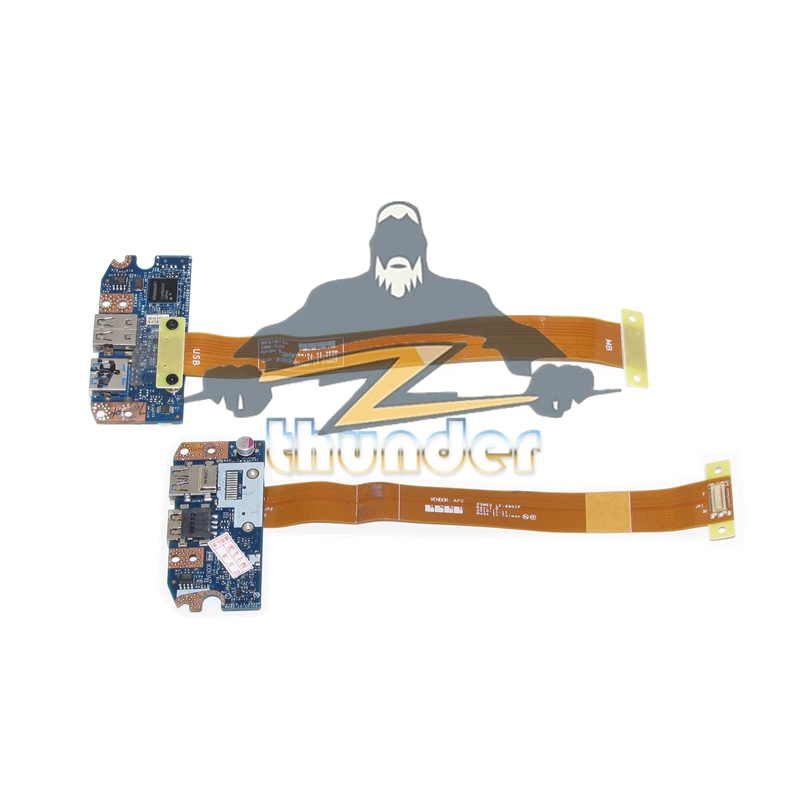 NOKOTION Genuine For Acer Aspire 5750 5750G 5755G NV57 NV57H LS-6904P USB 3.0 Board With Cable