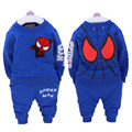 0-24M Autumn Spring Newborn Kids Spiderman Set Baby Boys Long Sleeve Clothes T-shirt Tops+Pants Outfit Set Sports Suit Clothing