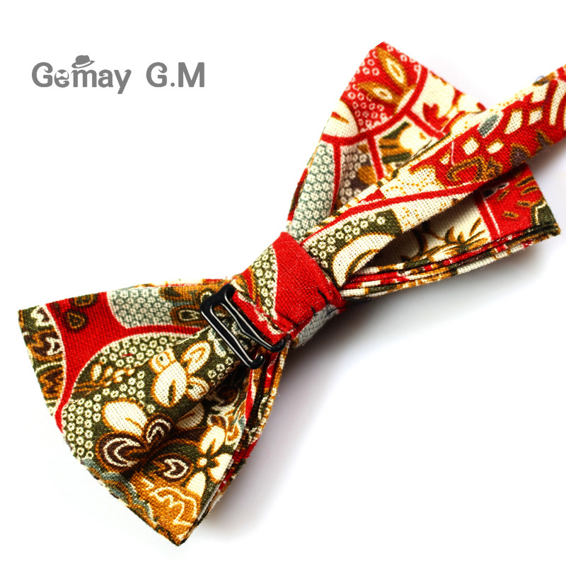Këpucë pambuku zyrtare të rregullueshme, kravatë Vintage me lule - Aksesorë veshjesh - Foto 4
