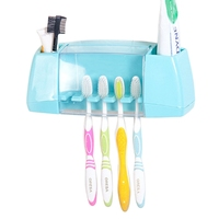 Multifunctional Toothbrush Racket Storage Holder Box Portable Bathroom Makeup Accessories Products Sets 2017 Newest