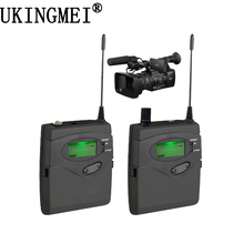EAROBE MA-900 DSLR Camera Wireless for Outdoor Recording, Interview, Video Shooting, DV Portable Microphone