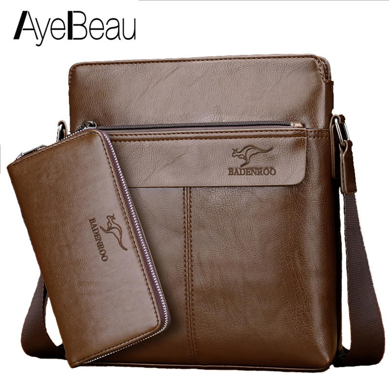 Hand Work Portable Handbag Business Satchel Office Male Messenger Bag Men Briefcase For Document Portfolio Bussiness Portafolio