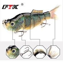 FTK Fishing Lure 1pc  Wobbler Hook Tackle Swim Bait Assorted Bass Floating Hard Sinking Topwater Crankbait HF