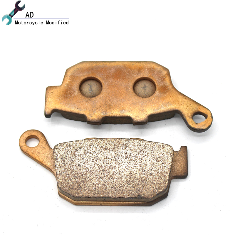 For Honda XRV 750 L M N P R S T V W X Left Right Rear Brake Pads Kits Motorbike Sintered Saint Moto Sets Motor Bike Motorcycle !