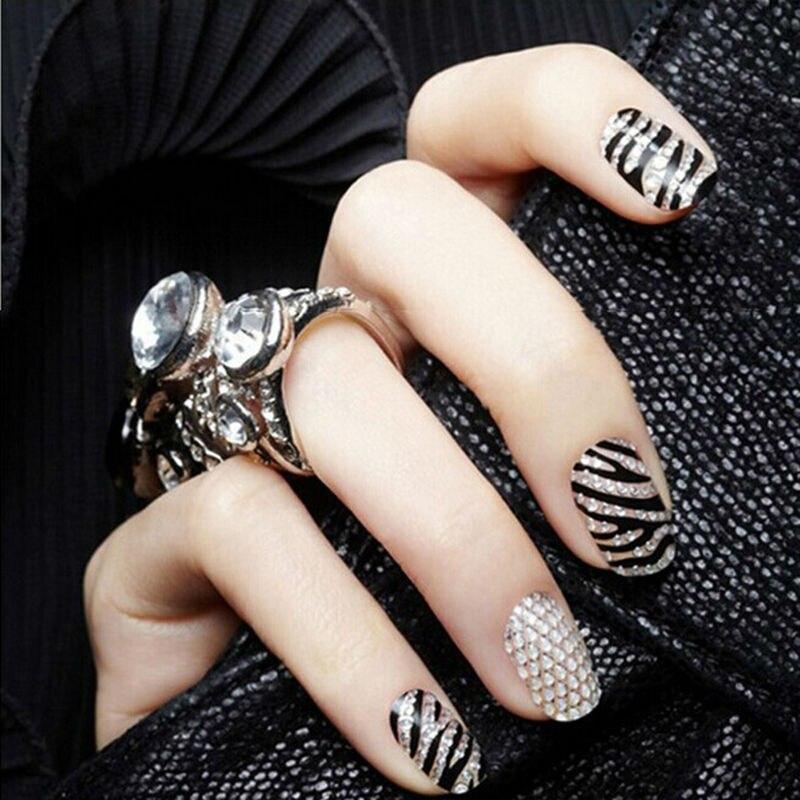 Hot Selling New Korean Style 3D Nail Art Crystal Diamond DIY ...