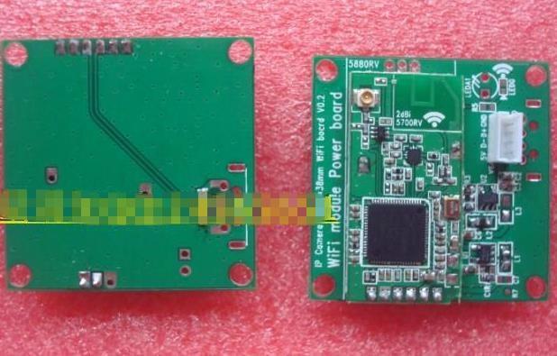 Free Shipping! 38 * 38mm usbwifi module 5V Low Power RT3070 card for network camera IPCAM module sensor