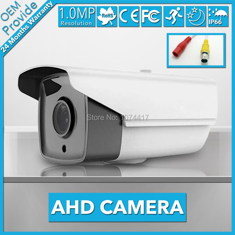 AHD2100H-T  IP66 Waterproof Outdoor Camera  2000TVL 1/4 Coms 1.0MP 720P Bullet AHD Camera CCTV Security Surveillance with IR Cut wistino cctv camera metal housing outdoor use waterproof bullet casing for ip camera hot sale white color cover case