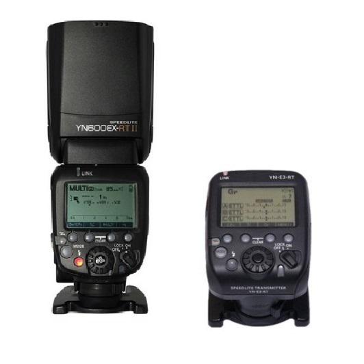 Prix pour Économisez!!! YONGNUO YN600EX-RT II + YN-E3-RT Maître Flash Speedlite pour Canon RT Radio Système de Déclenchement, YN600EX RT
