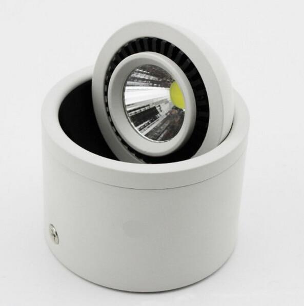 12pcs DHL besplatna dostava zatamnjena 7W 10W 15W LED strop dolje - Unutarnja rasvjeta - Foto 3