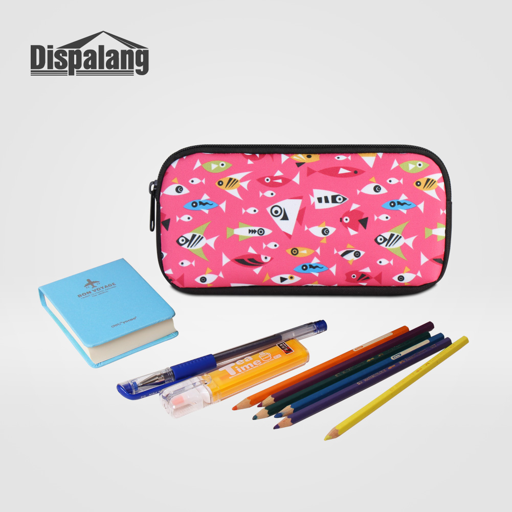 Dispalang Horse Pencil Cases For Children Cute Cosmetic Bags For Teenage Girls Animal Pen Bag For Boys Hot School Office Supply