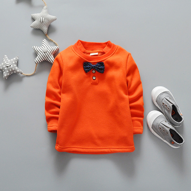 Cute Baby Hoodies Cotton Long Sleeve Children Sweatshirt Pullover Tracksuit Clothing Kids Sweater For Boys Girls Warm Clothes