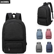 Jacodel унисекс 15 дюймов Ткань Оксфорд ноутбук рюкзак для ноутбука сумки мужские и женские дорожные сумки Новый школьника-рюкзак