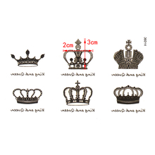 1PC New Arrival Water Transfer Crown Waterproof  Sticker Sexy Body Art s Temporary Fake 70