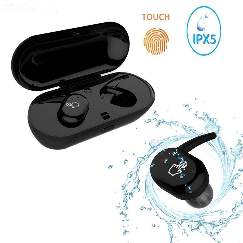 TWS ip010-x étanche dans l'oreille sans fil Bluetooth écouteur pour téléphone portable professionnel casque stéréo basse charge boîte