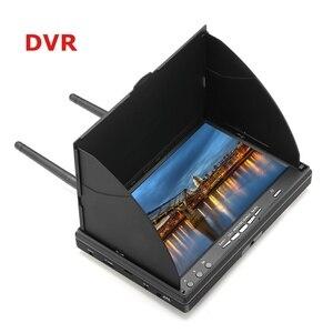 Image 1 - LCD5802D LCD5802S 5802 5.8 グラム 40CH 7 インチ Raceband FPV モニター 800 × 480 Dvr ビルドのバッテリービデオ画面 Fpv Multicopte