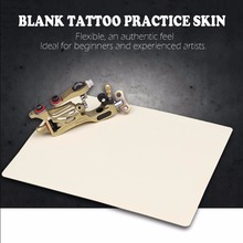 New Blank Eyebrow Lips Artificial Soft Leather Tattoo Simulation Practice Skin for Needle Machine Supply Tattoo Tool accesories