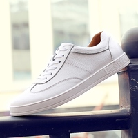 New Fashion All Seasons Board Shoes Men S Leather Casual Shoes Look Cool Shoes Youth Fashion