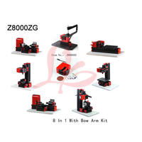 Multifunction drilling sanding machine 8 In 1 With Bow Arm Kit mini milling lathe Z8000ZG used for family or school diy