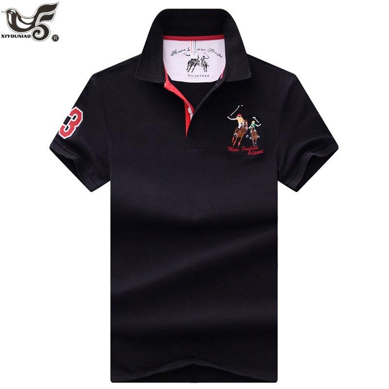 Novos Topos & T dos homens Polo camisas homens marcas Polo de Negócios Camisas 3D bordado mens ginásio Respirável camisa pólo