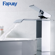 Fapully Basin Faucet Bathroom Sink Faucet Single Handle Hole  Hot Cold Chrome Faucet Basin Taps Deck Vintage Wash Mixer Tap 770 все цены